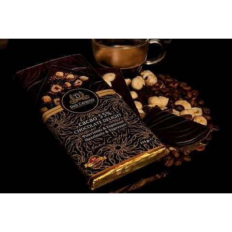 DELI CARPOUS CHOCOLATE ΦΟΥΝΤΟΥΚΙ & ESPRESSO CACAO 115gr