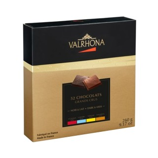 VALRHONA 52 CHOCOLATS GRANDS CRUS 260gr