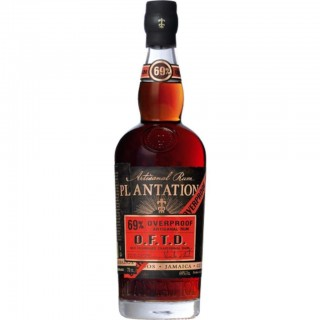 PLANTATION DARK OVERPROOF 69%