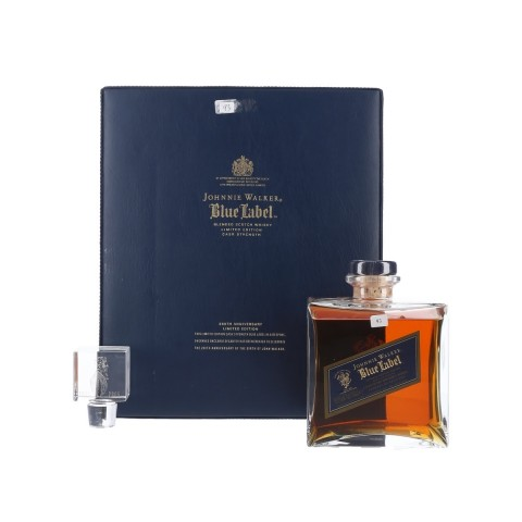 JOHNNIE WALKER BLUE LABEL CASK STRENGTH 200TH ANNIVERSARY LIMITED EDITION